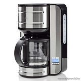 Nedis 12 csészés teafőző, kávéfőző 24 órás időzítővel, rozsdamentes acél (KACM210EAL)