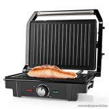 Nedis Elektromos asztali grillsütő, kontakt grill, 1600 W (KAGR120SR)