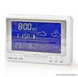 Nedis Időjárás állomás és páratartalom mérő ébresztőóra funkcióval (WEST203WT)