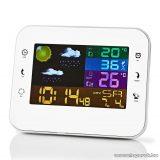 Nedis Időjárás állomás és páratartalom mérő ébresztőóra funkcióval (WEST402WT)