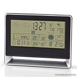 Nedis Időjárás állomás és páratartalom mérő ébresztőóra funkcióval (WEST405BK)