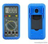 HOLDPEAK 9802 Digitális multiméter, VDC, VAC, ADC, AAC, ellenállás, kapacitás, dióda, hFE, szakadás mérőműszer