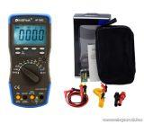 HOLDPEAK 760G Digitális multiméter, VDC, VAC, ADC, AAC, frekvencia, kapacitás, hőmérséklet, hFE, dióda, szakadás mérőműszer