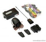 EASYCAR E1-A Autóriasztó központ, 2 db távirányítóval, szirénával, rezgésérzékelő funkcióval