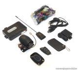 EASYCAR E9-A Autóriasztó, 1 db LCD + 1 db kiegészítő távirányítóval, tartóval, sziréna, rezgésérzékelő, antenna funkcióval