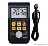 HOLDPEAK 130 Digitális ultrahangos anyagvastagság mérő mérőműszer, 1.2-225mm, külső mérőszonda, adattárolás