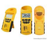HOLDPEAK 940 Digitális ultrahangos vezetéktávolság mérő műszer + hord táska, 3-23 m, környezeti hőmérséklet mérés
