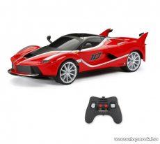 New Bright 60647-2 Ferrari FXX K 1:6 RC nagy méretű távirányítós autó, Li-ion akkuval, 53 x 25 x 15 cm, piros