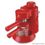 Orion OCM-2017R 4 személyes eszpresszó kávéfőző Cappuccino funkcióval, piros
