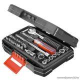 Black & Decker A7142 31 részes autókarbantartó, autós készlet kofferben