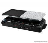 SilverCrest SRGS 1400 8 személyes raclette grill kő lappal, 1400 W