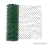 Drótfonat PVC bevonatú műanyagozott vashuzal (kerítésdrót), 1,6 / 2,3 mm huzalvastagsággal, 25 fm / tekercs