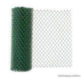 Drótfonat PVC bevonatú műanyagozott vashuzal (kerítésdrót), 175 cm magas, 1,6 / 2,3 mm huzalvastagsággal, 25 fm / tekercs