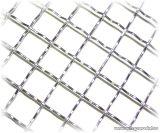 Hullámosított háló, diagonális 50 x 50 mm-es osztással, 3,8 mm-es huzalvastagsággal, 100 x 100 cm / tábla