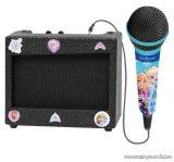 Lexibook Disney Jégvarázs hordozható hangszóró, karaoke mikrofonnal