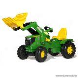 Rolly Toys FarmTrac John Deere 6210R pedálos markolós traktor (RO-611096)
