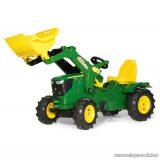 Rolly Toys Farmtrac John Deere 6210R pedálos traktor markolóval (RO-611102)