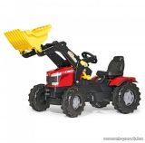 Rolly Toys Massey Ferguson 8650 markolós pedálos traktor (RO-611133)