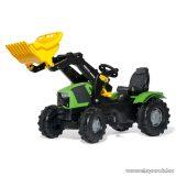 Rolly Toys FarmTrac Deutz-Fahr 5120 pedálos markolós traktor (RO-611201)
