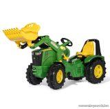 Rolly Toys X-Trac Premium John Deere 8400R pedálos markolós traktor (RO-651047)
