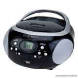 Millenium MN9846 Hordozható rádió MP3 lejátszóval és USB csatlakozóval