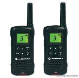 Motorola TLKR T60 adó-vevő készülék, 8 km walky talky, fekete
