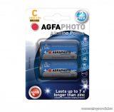 AgfaPhoto AF LR14 baby C elem, alkáli, 2 db / csomag