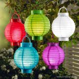 LED-es kültéri kerti lampion, 1 LED, sárga színű (EDC 9219/YE)