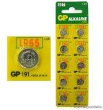 GP AG 8 Alkáli gombelem, 1,5V, 10 db / csomag