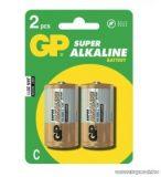 GP LR14 baby C elem, alkáli, 2 db / csomag