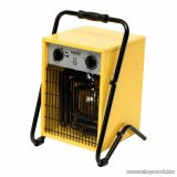 HOME FKI 50 Ipari, hordozható ventilátoros fém házas fűtőtest, hősugárzó, sárga, 5000 W