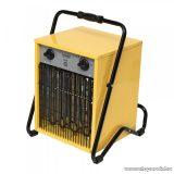 HOME FKI 90 Ipari, hordozható ventilátoros fém házas fűtőtest, hősugárzó, sárga, 9000 W