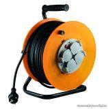 HOME HJR 10-30 Kábeldob, 30 m gumírozott vezetékkel