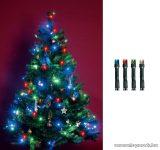 HOME KII 200/M Beltéri LED-es fényfüzér, 200 db LED, 16 m hosszú, multi (színes) fényű
