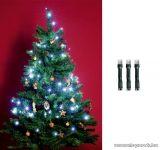HOME KII 200/WH Beltéri LED-es fényfüzér, 200 db LED, 16 m hosszú, hideg fehér fényű