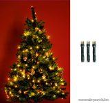 HOME KII 50/WW Beltéri LED-es fényfüzér, 50 db LED, 4 m hosszú, meleg fehér fényű