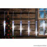 HOME KJL 35 Kültéri Jégcsap fényfüzér dekoráció, 270 db hideg fehér LED-del