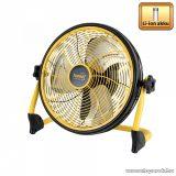 HOME PVR 30B Akkumulátoros padlóventilátor, 30 cm, fekete-sárga