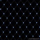 HOME KLN 400C/WH Kültéri LED-es fényháló 400 db hideg fehér fényű leddel, 600 x 400 cm
