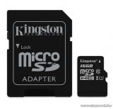 Kingston MicroSDHC 16GB CLASS 10 UHS-I Industrial Temp memóriakártya + SD adapter