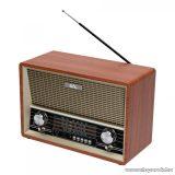 SAL RRT 4B Retro asztali rádió és multimédia lejátszó BT kapcsolattal, távirányítóval