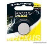 tecxus TC CR2016 3V gombelem, Litium, 10 db / csomag