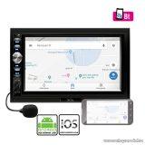 """SAL voXbox VB X900 Autórádió és multimédia lejátszó távirányítóval, fix 7,0""""-os érintőképernyős LCD kijelzővel"""