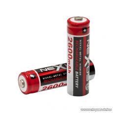 neXus Ceruza akkumulátor, AA, HR06, Ni-MH, 1,2 V, 2600 mAh, 2 db / csomag (18506) - készlethiány