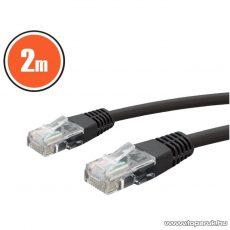neXus Patch kábel, 8P/8C, Cat. 5 dugó, 2 m, fekete, 1 db (20355X)