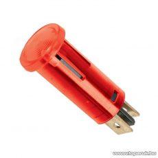Jelzőfény, 12V, piros, 10 db / csomag (07921PI)
