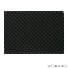 Hangtompító szivacs, 40 x 60 cm, fekete, 2 db / csomag (39501)