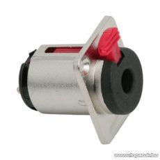 JACK aljzat biztonsági zárral, beépíthető, sztereo, 6,3 mm (05668)
