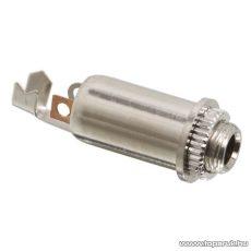 JACK aljzat, beépíthető, sztereo, 3,5 mm, 10 db / csomag (05116)