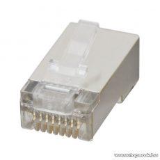 8P8C Cat.5 FTP moduláris dugó, 100 db / csomag (05267)